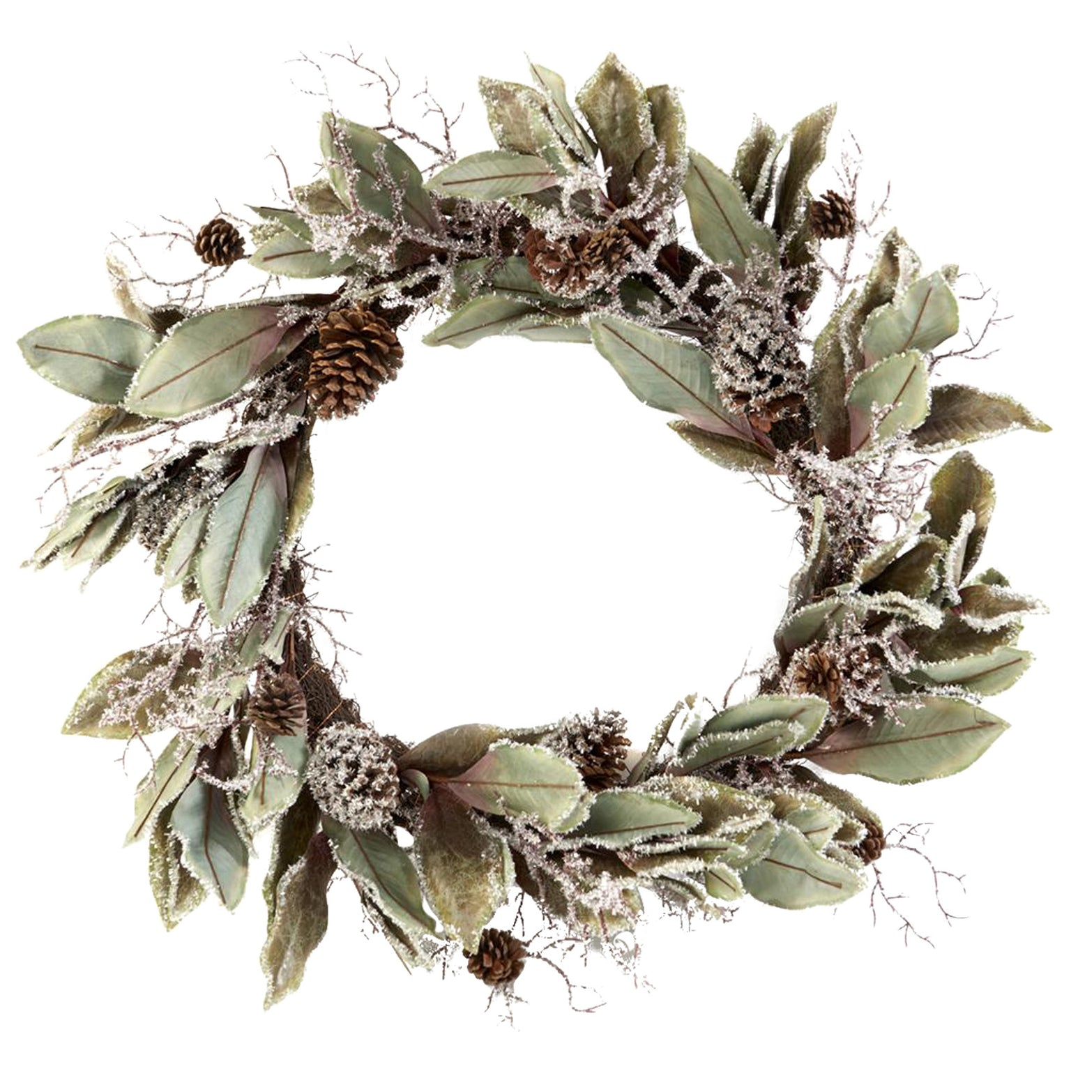 Large Frost Wreath by LuxDeco — Luxury Christmas wreath - LuxDeco.com