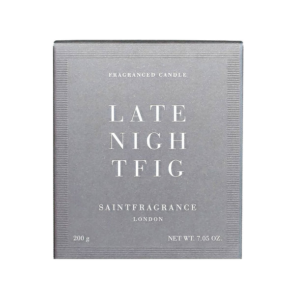 Late Night Fig Candle Saint Fragrance Late Night Fig Candle