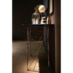 Lin Console Table Black Tie Lin Console Table