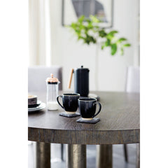 Linea Round Dining Table Bernhardt Linea Round Dining Table
