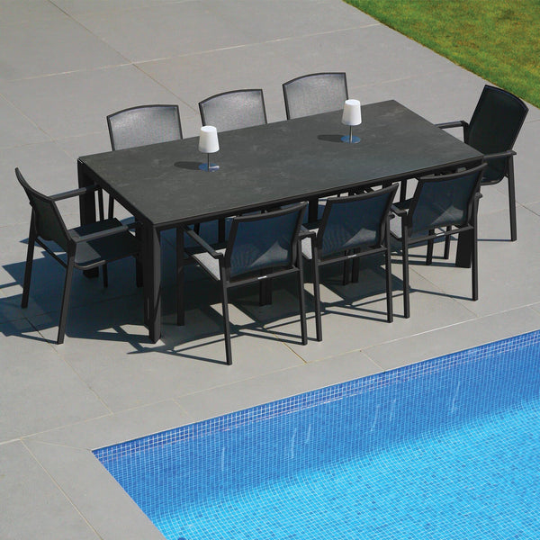 Madison 220 Rectangular Table and 8 Madison Chairs Westminster Madison 220 Rectangular Table and 8 Madison Chairs