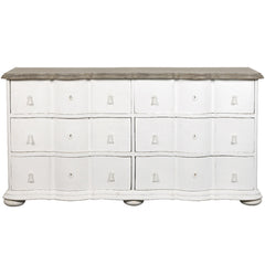 Miriam Chest of Drawers LuxDeco White