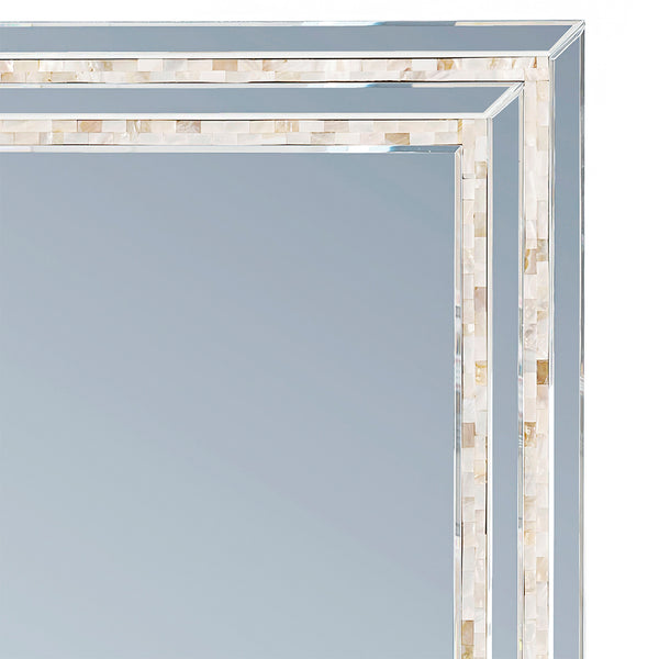 Mother of Pearl Mirror LuxDeco Mother of Pearl Mirror