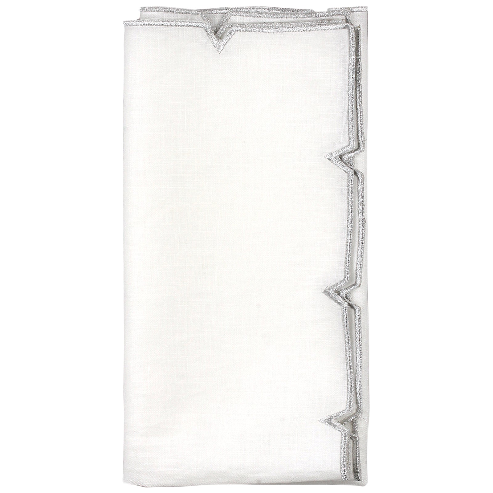 Set of 4 Divot Napkins