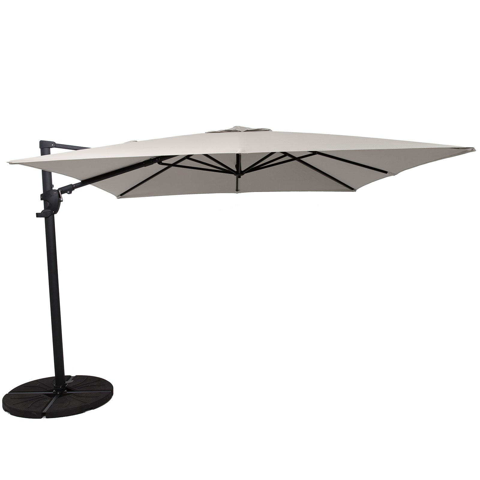 Norfolk Deluxe Cantilever Parasol With Base