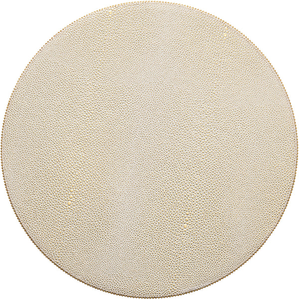 Set of 4 Gold Pebble Placemats