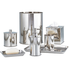 Nickel Punto Bathroom Set Labrazel Nickel Punto Bathroom Set