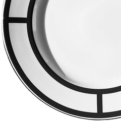 Palladian Dinner Plate Black Custhom Palladian Dinner Plate Black