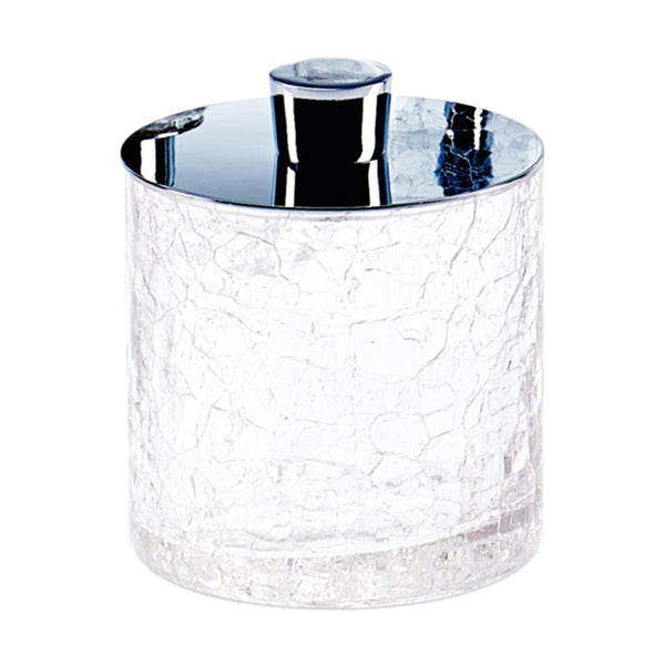 Parkway Chrome Vanity Jar Decor Walther Parkway Chrome Vanity Jar