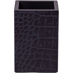 Chelsea Pen Holder Croc Noir Posh Trading Company Chelsea Pen Holder Croc Noir