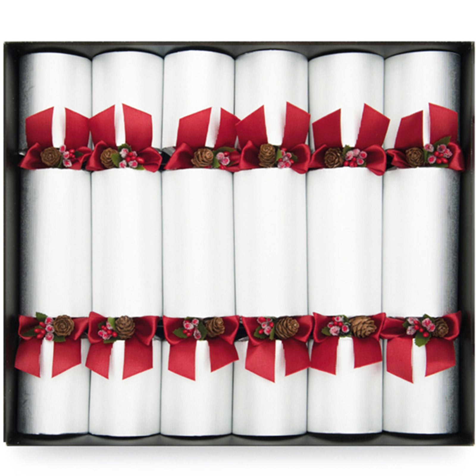 Silver Pin Christmas Crackers