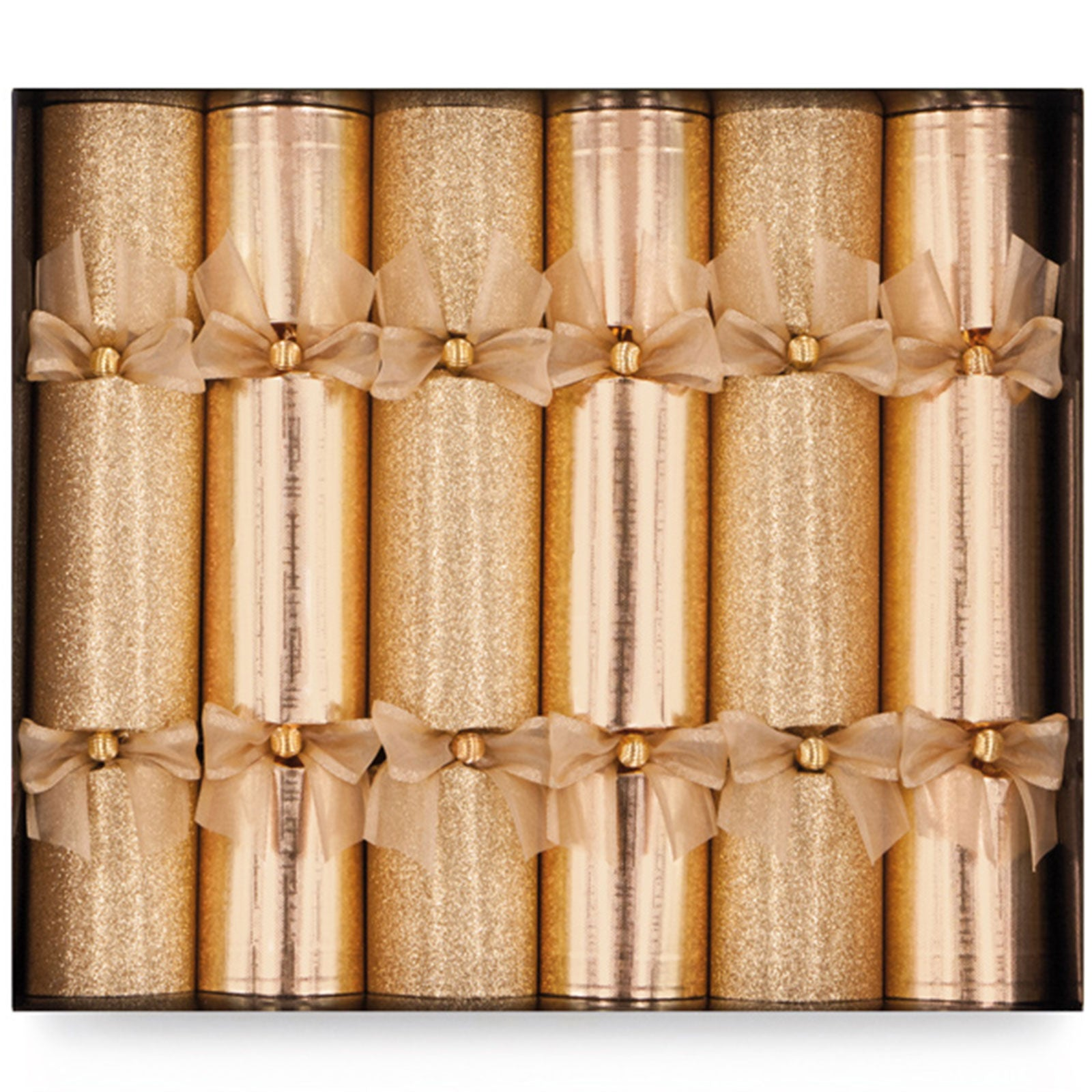 Golden Mix Christmas Crackers