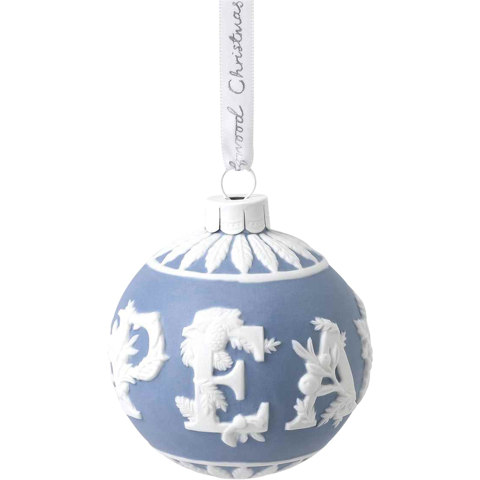 2020 Peace Christmas Bauble by Wedgwood — Christmas tree decoration - LuxDeco.com