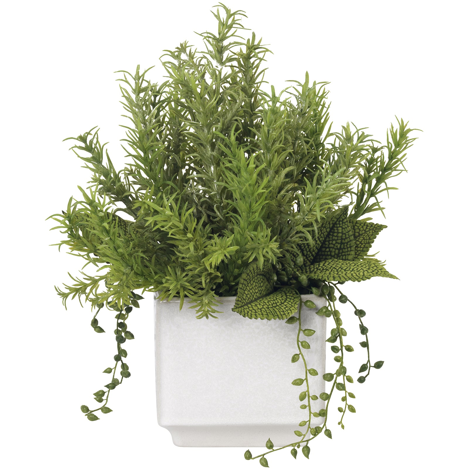 Faux Rosemary Bouquet