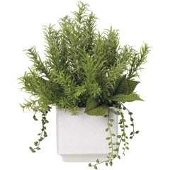 Faux Rosemary Bouquet Diane James Faux Rosemary Bouquet