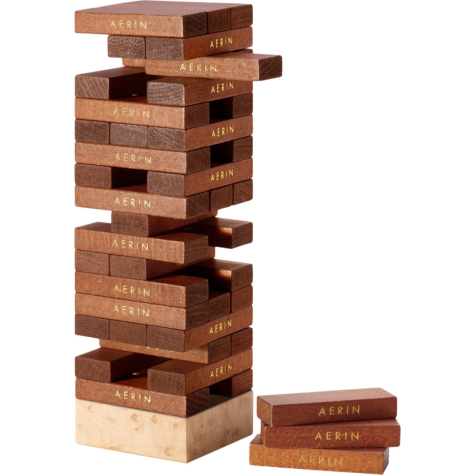 Chocolate Shagreen JENGA® Set