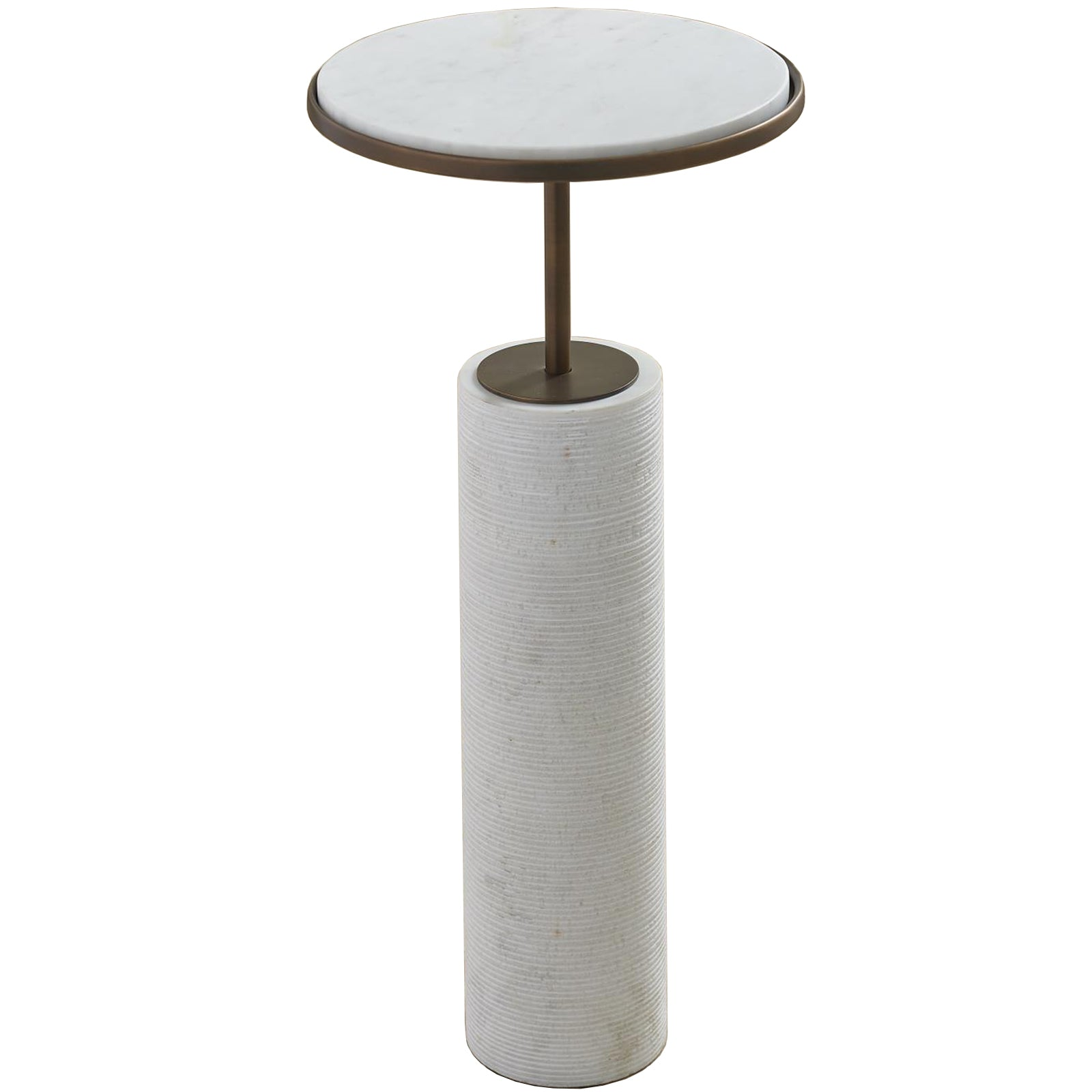 Short Cored Marble Table