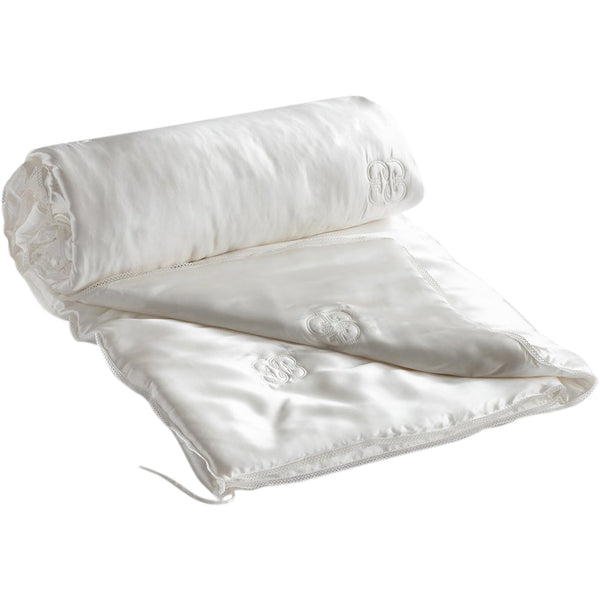 Silk Covered & Silk Filled Summer Weight Duvet Gingerlily Silk Covered & Silk Filled Summer Weight Duvet