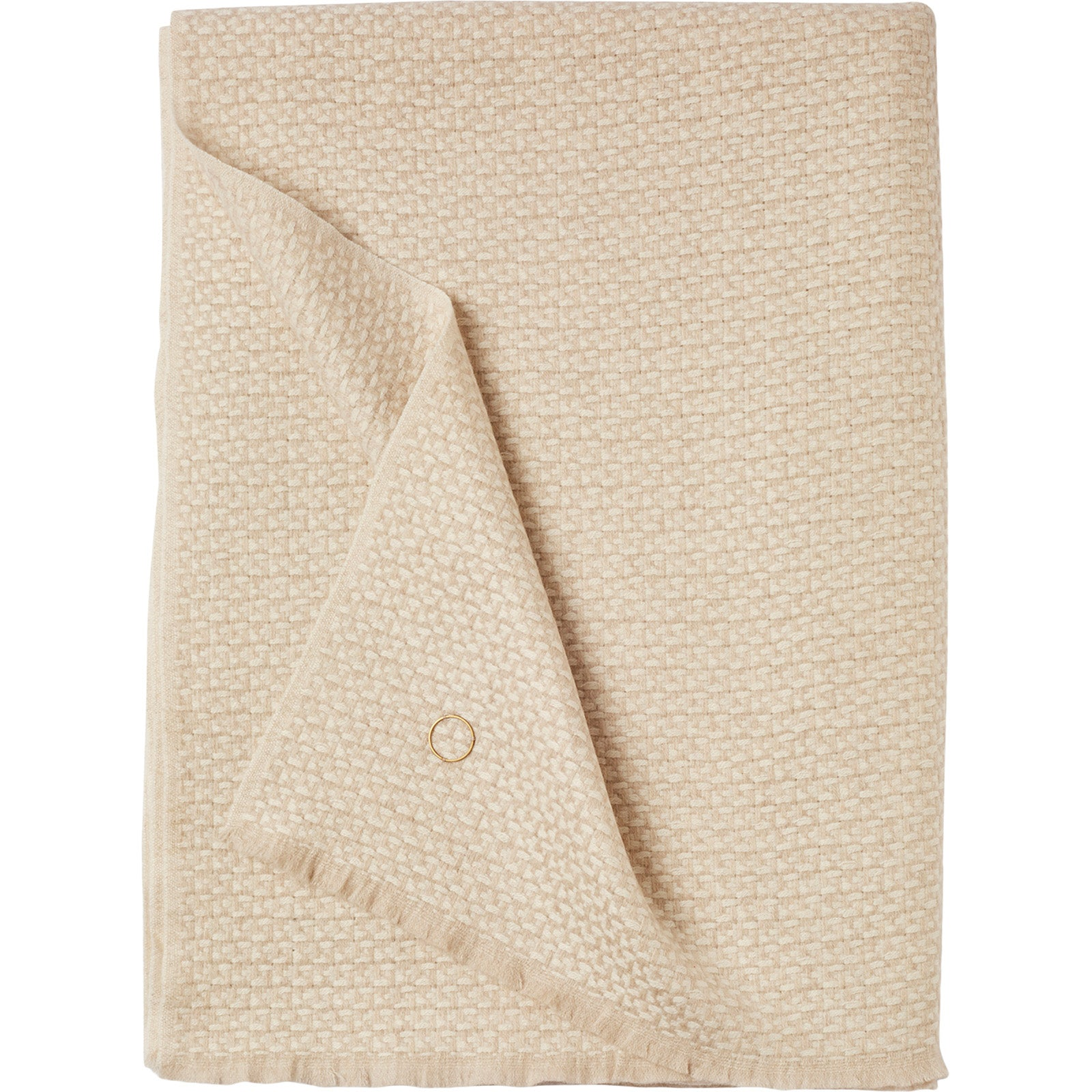 Tasa Throw Ivory - 9 Best Luxury Throws & Blankets to Buy for your Home - Style Guide - LuxDeco.com