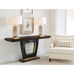 The Axis Console Table Caracole The Axis Console Table