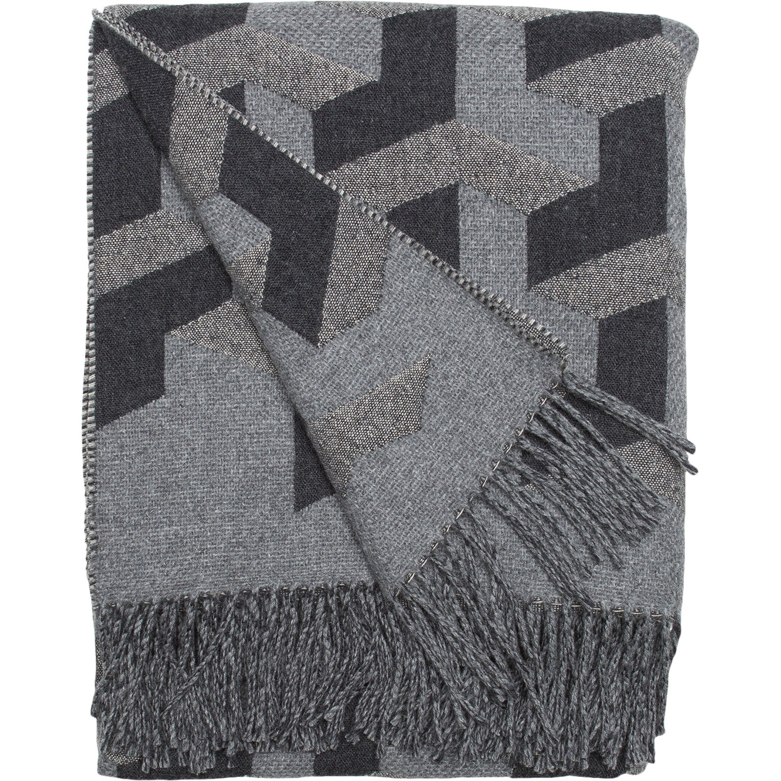 Monochrome Triolux Sivill Throw