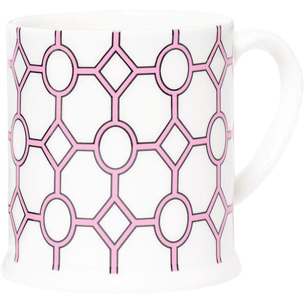 Hoop White & Pink Espresso Cup