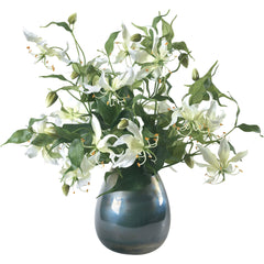 White Gloriosa Lilies Bouquet Diane James White Gloriosa Lilies Bouquet