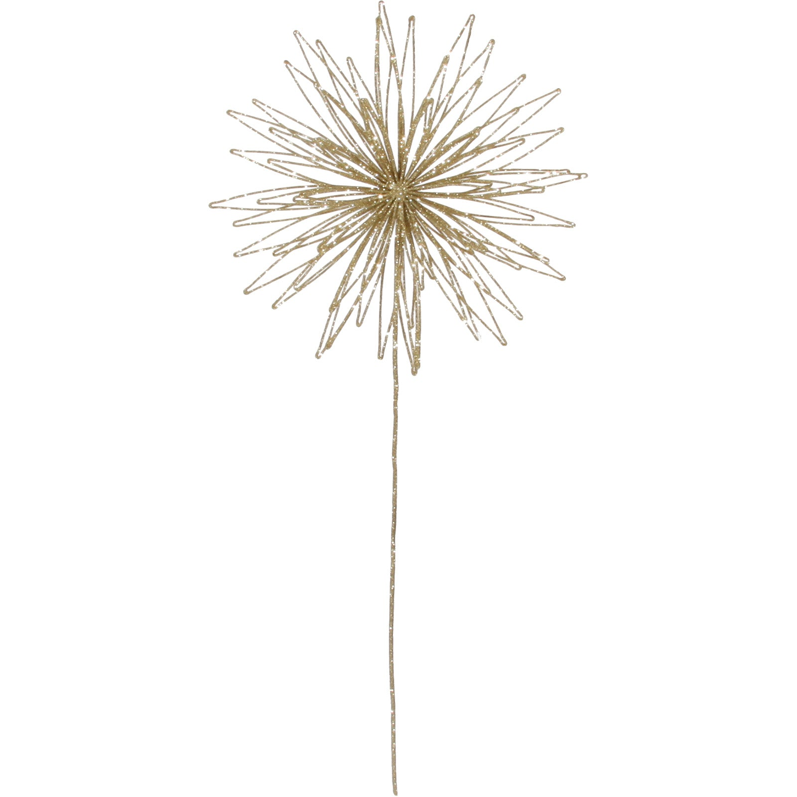 Wire Flower Tree Topper by LuxDeco - Christmas tree decoration - LuxDeco.com
