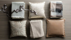 Pacha Cushion Beige Zinc Textile featured