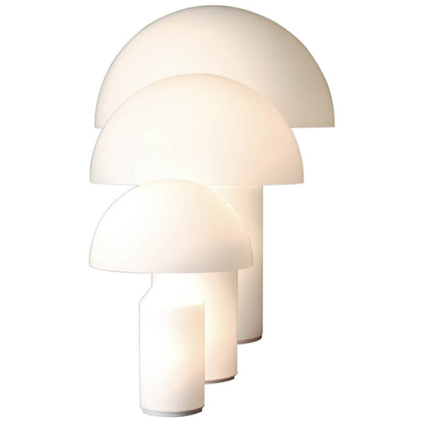 Atollo White Table Lamps Oluce Atollo White Table Lamps