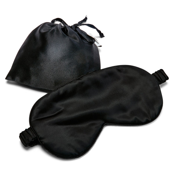 Silk Eye Mask - Black