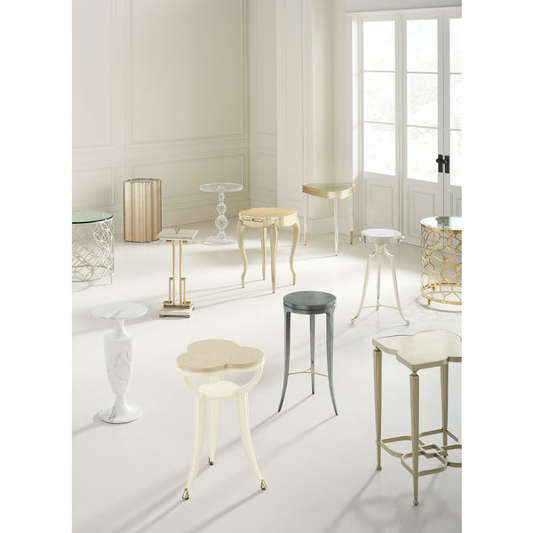 Good As Gold Side Table Caracole Good As Gold Side Table