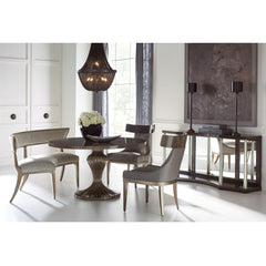 Round Table Discussion Dining Table Caracole Round Table Discussion Dining Table