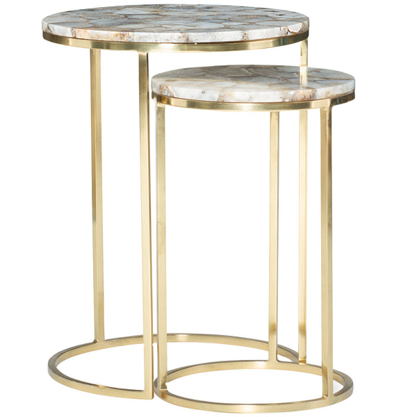 Milky Way Side Table Caracole Milky Way Side Table