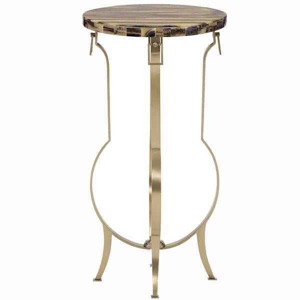 Pot of Gold Side Table Caracole Pot of Gold Side Table