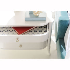 Oyster Diver Bedside Table Caracole Oyster Diver Bedside Table