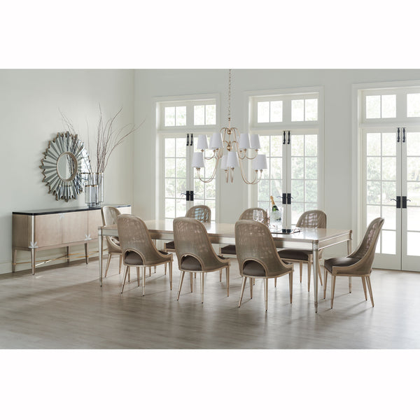 Get The Party Started Dining Table Caracole Get The Party Started Dining Table