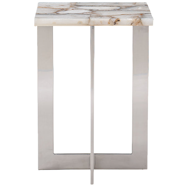 The Four Corners Side Table Caracole The Four Corners Side Table