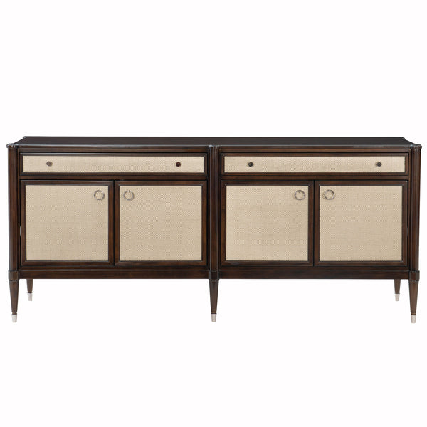 The Silver Screen Sideboard Caracole The Silver Screen Sideboard