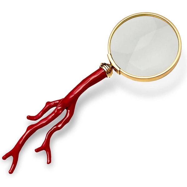 Coral Magnifying Glass L'Objet Coral Magnifying Glass