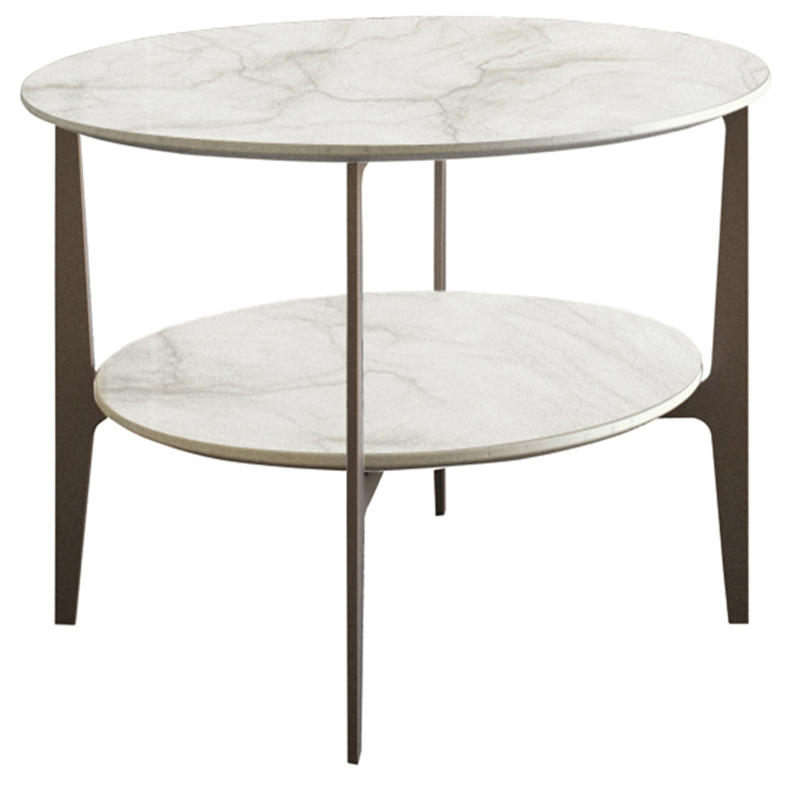 Dupre Circular Side Table - Casamilano