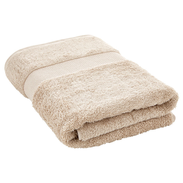 Luxury Egyptian Bath Towel - Natural Sheridan UK Luxury Egyptian Bath Towel - Natural