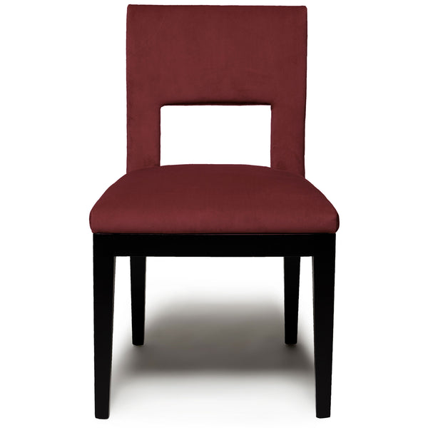 Elma Dining Chair - Velvet LuxDeco burgundy