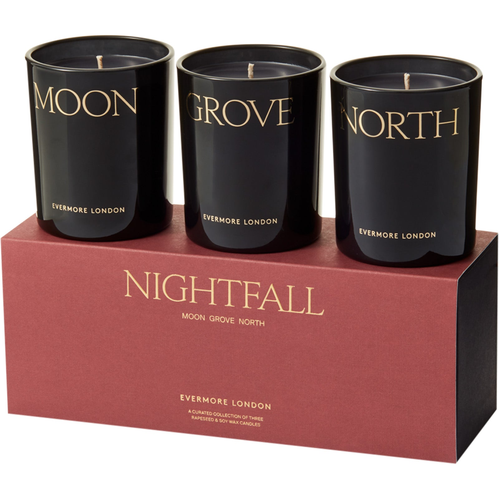 Evermore Nightfall Candle Gift Set - 12 Best Scented Candles & Fragrances For Your Home - Style Guide - LuxDeco.com
