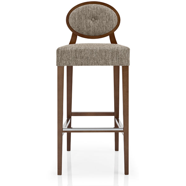 Gioconda Bar Stool - Wool Blend LuxDeco Gioconda Bar Stool - Wool Blend