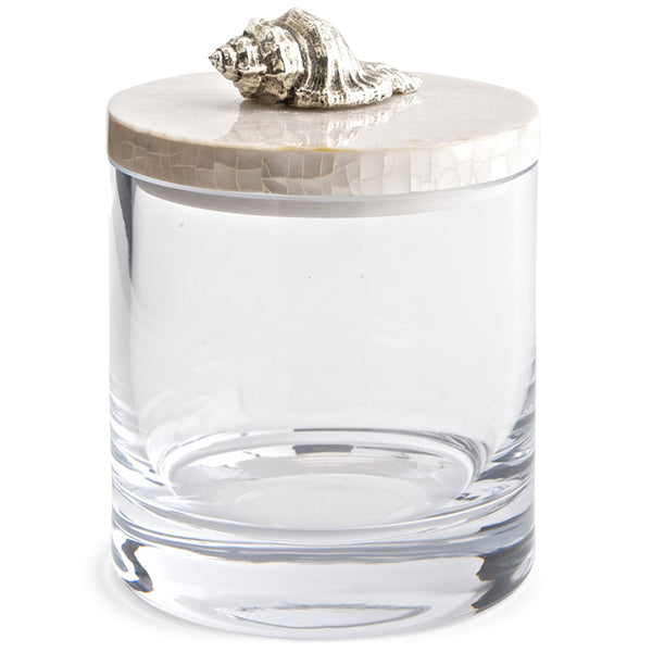 Glass Jar with Lid Objet Luxe Murrex Shell
