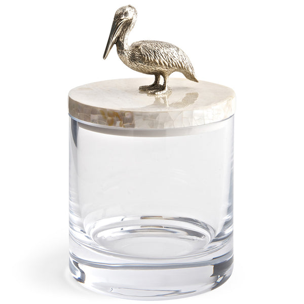 Glass Jar with Lid Objet Luxe Pelican