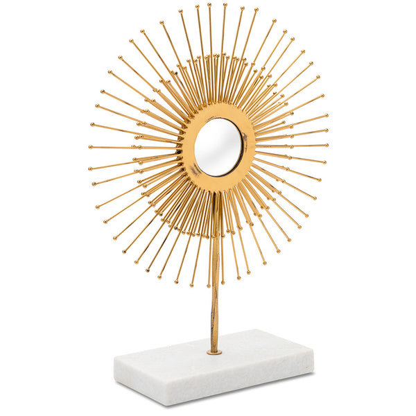 Gold Halo Sculpture