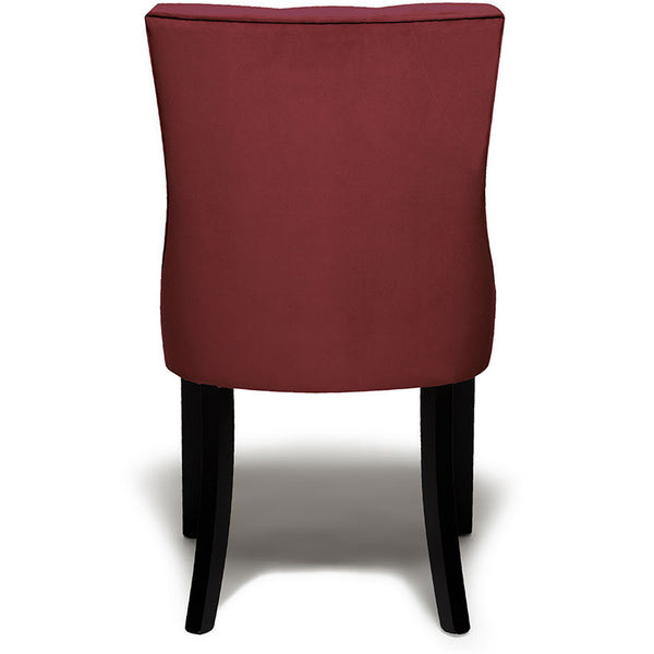 Harper Dining Chair - Velvet LuxDeco burgundy