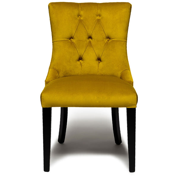 Harper Dining Chair - Velvet LuxDeco Harper Dining Chair - Velvet